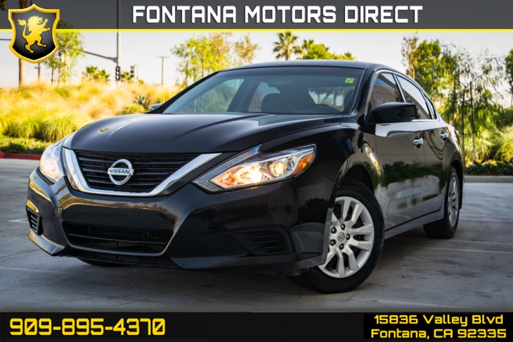 2017 Nissan Altima 2.5 S (BLUETOOTH & BACK UP CAMERA)