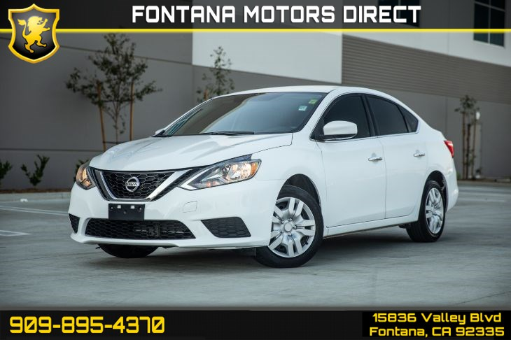 2017 Nissan Sentra SV (BACK UP CAMERA & BLUETOOTH)