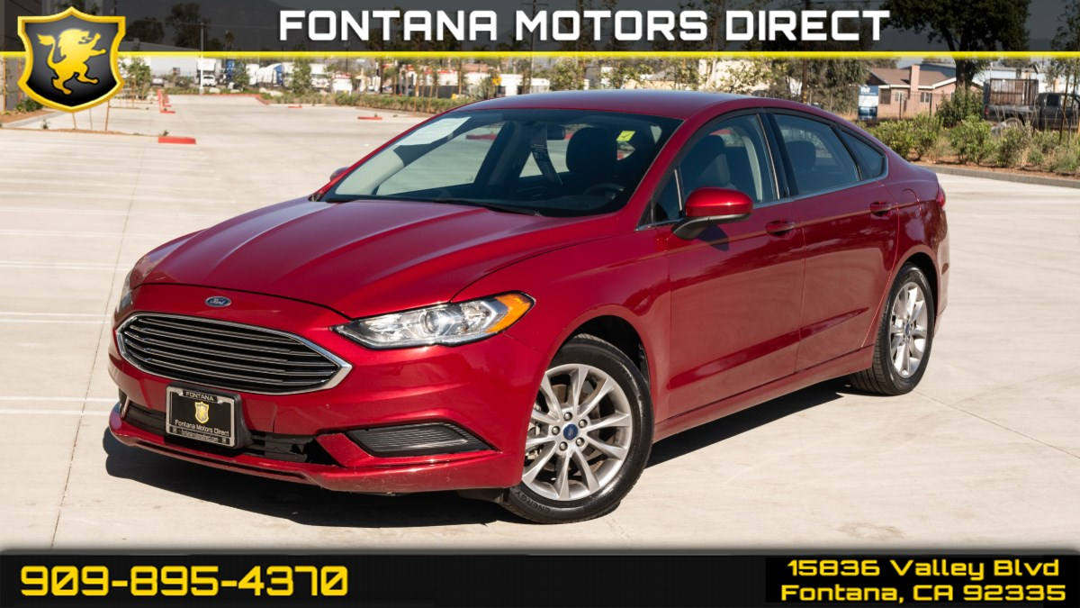2017 Ford Fusion SE ( BLUETOOTH & KEYLESS ENTRY )