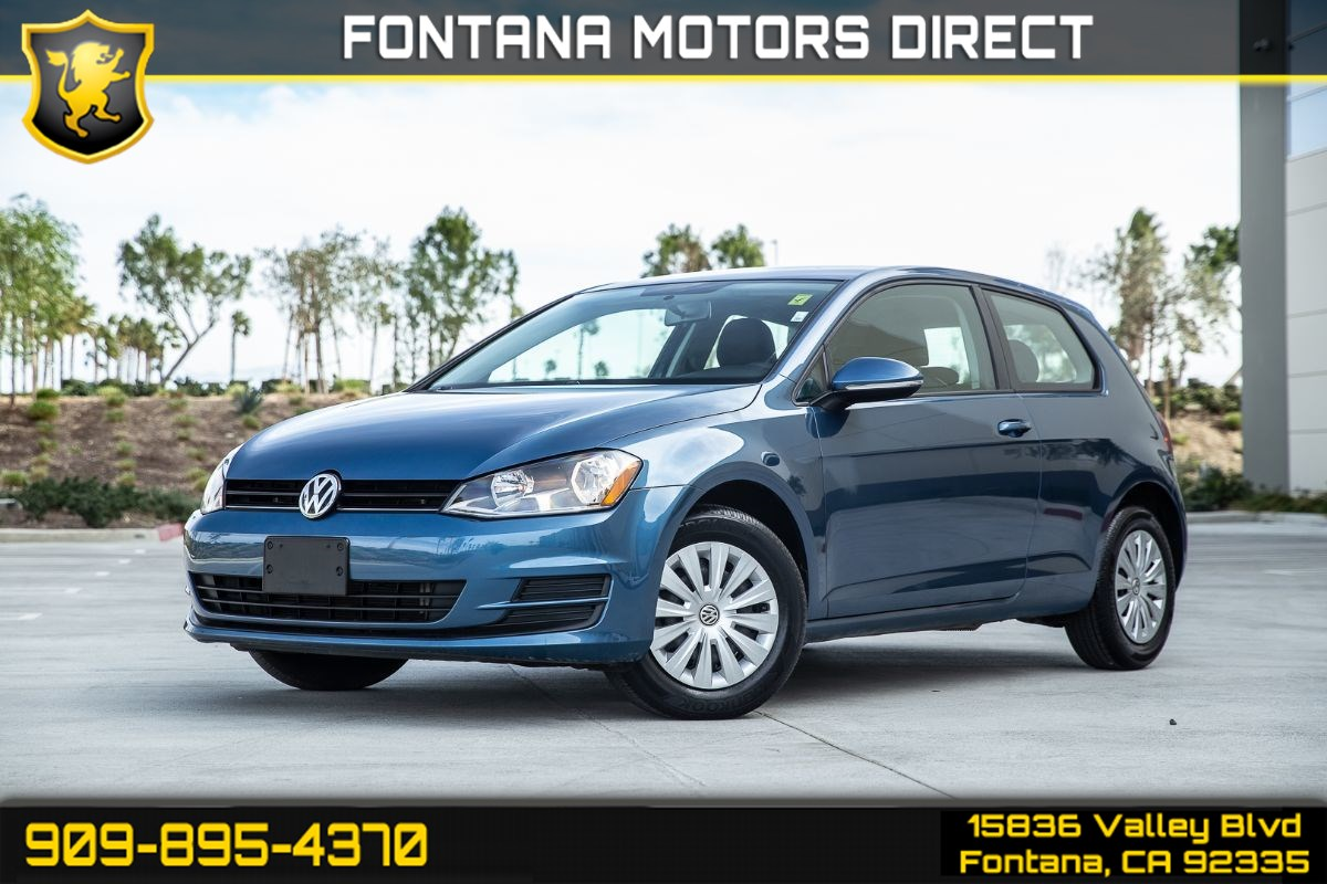 2015 Volkswagen Golf Launch Edition (MANUAL TRANSMISSION)
