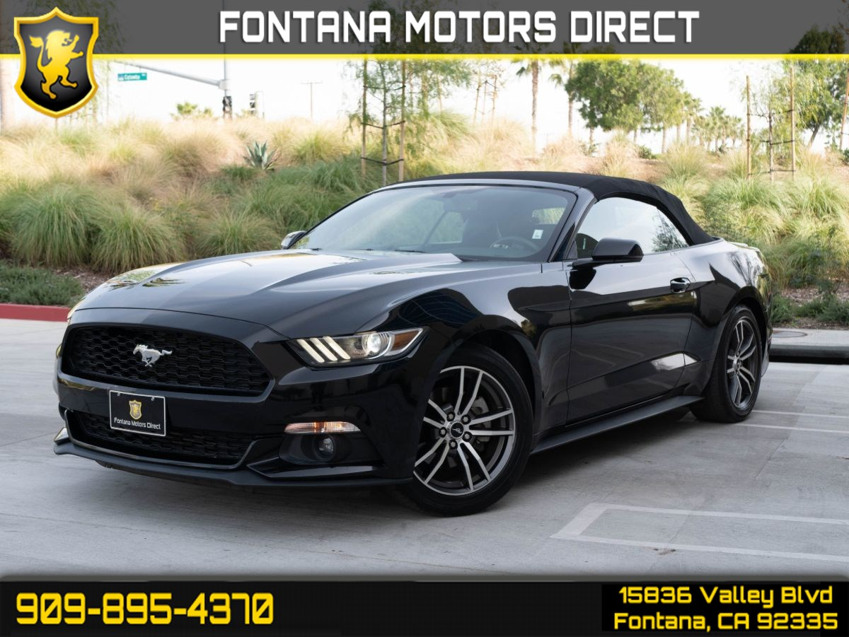 2017 Ford Mustang EcoBoost Premium (CONVERTIBLE SOFT TOP)