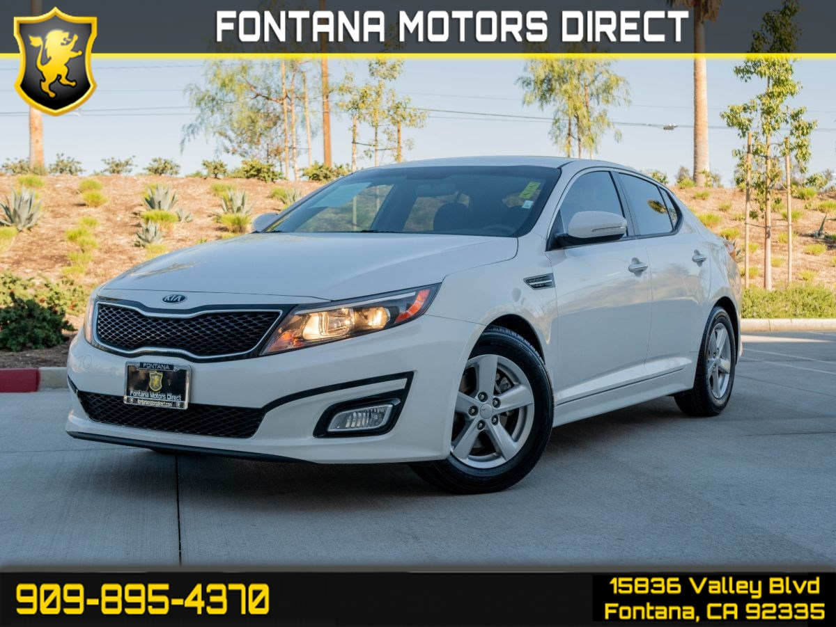 2015 Kia Optima LX ( KEYLESS ENTRY & LIGHT TINTED GLASS )