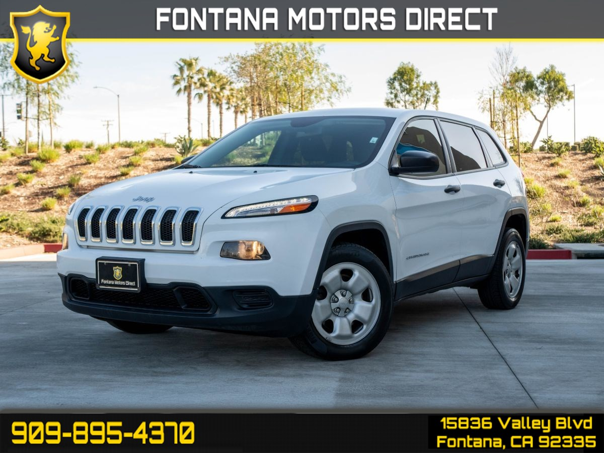2015 Jeep Cherokee Sport (LIGHT TINTED GLASS & BLUETOOTH)