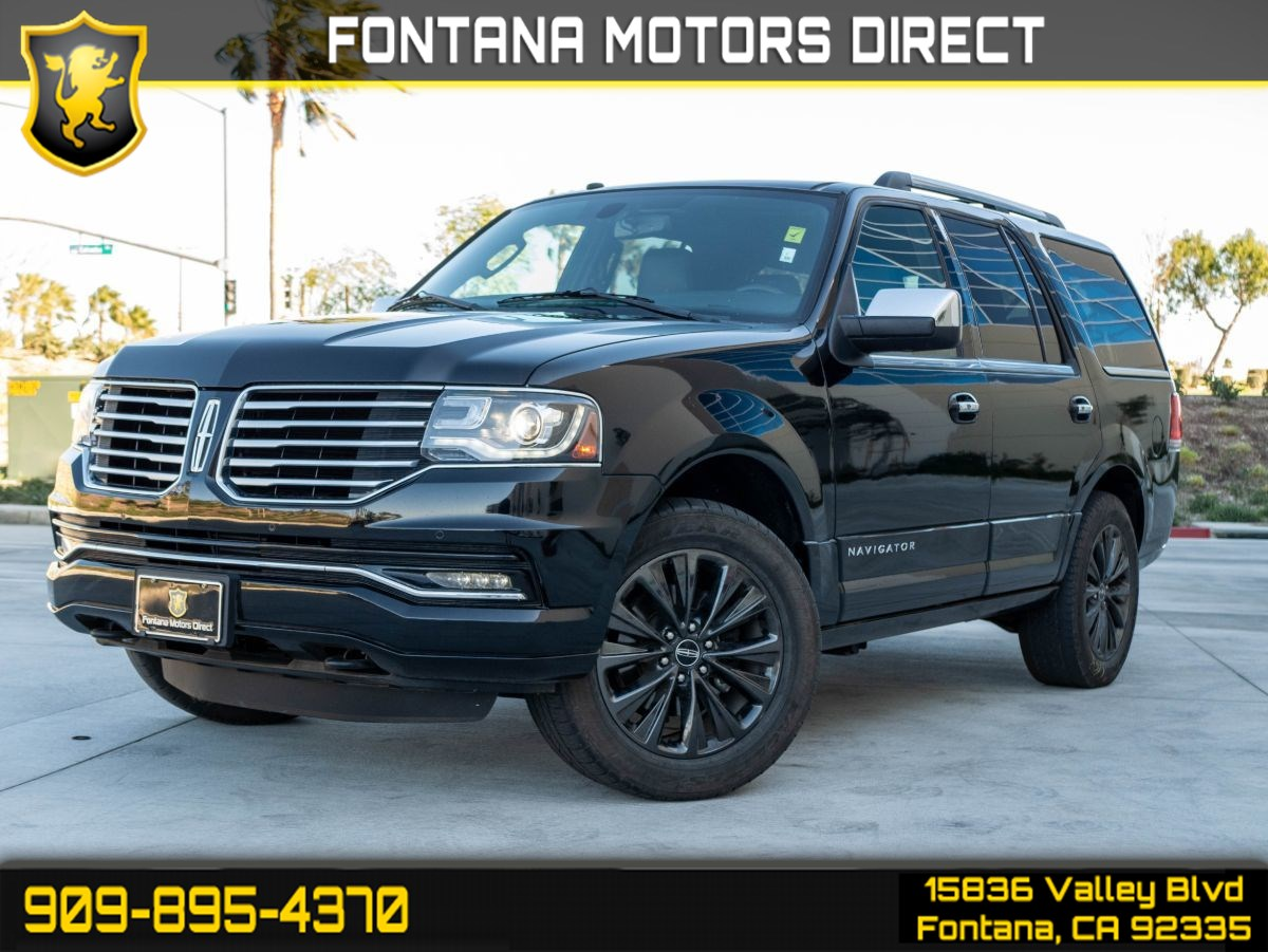 2017 Lincoln Navigator Select (TURBOCHARGED & PREMIUM SOUND SYSTEM)
