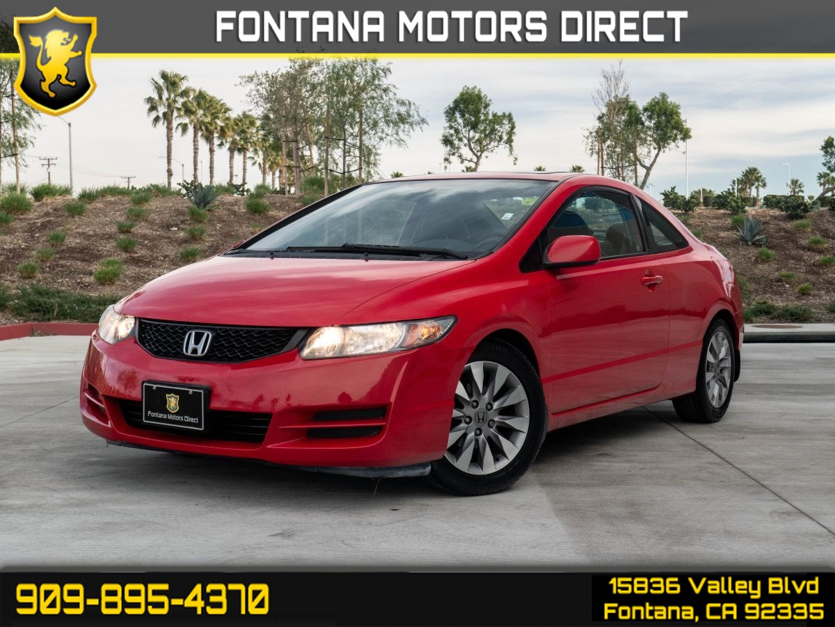 2011 Honda Civic Cpe EX-L (POWER TILT SUNROOF & LEATHER SEATING)