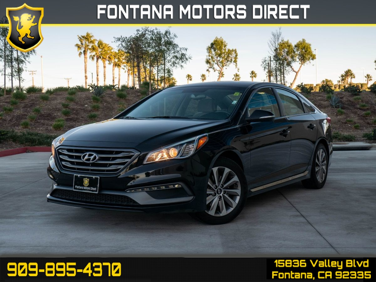 2017 Hyundai Sonata Sport (LIGHT TINTED GLASS & BLUETOOTH)