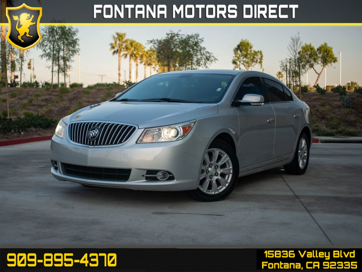 2013 Buick LaCrosse Leather (DRIVER CONVIDENCE PKG, ENTERTAINMENT PKG)