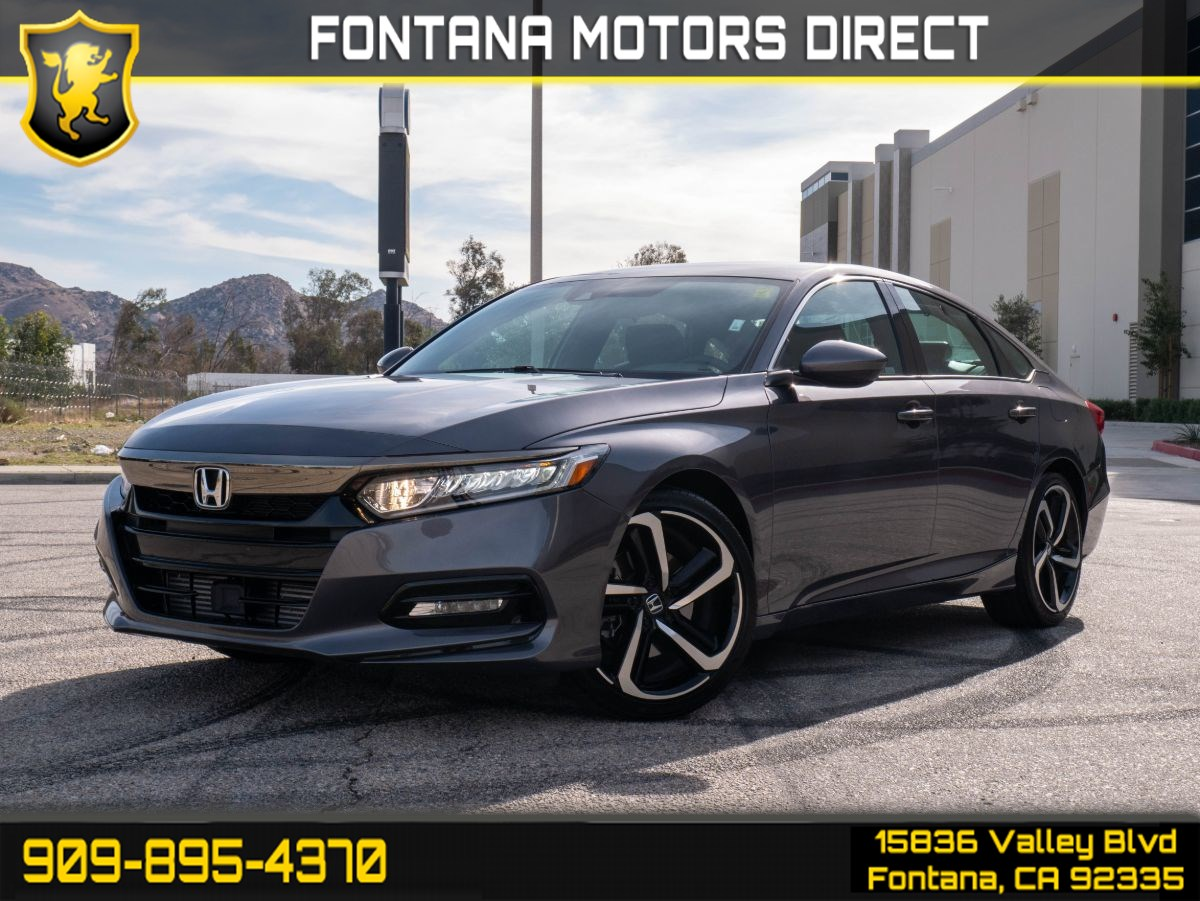2019 Honda Accord Sedan Sport 1.5T  (BACK UP CAMERA & BLUETOOTH CONNECT)