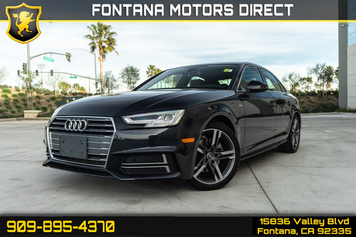 2018 Audi A4 Premium Plus (Ventilated Seats & Sport Package)