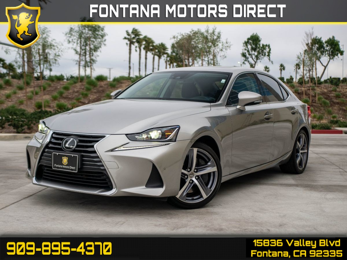 "2018 Lexus IS IS 300 (COMFORT PKG. NAVIGATION SYSTEM. 18"" WHEEL)"