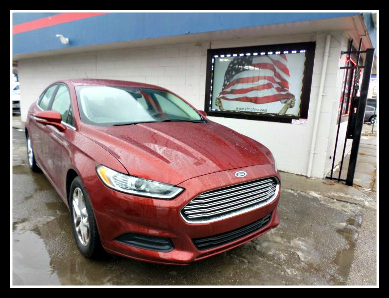 Used 2014 Ford Fusion Se In Detroit