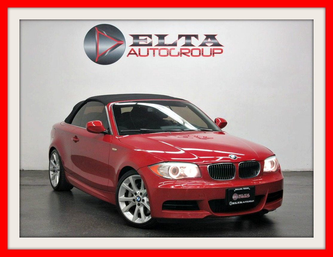 2012 BMW 1 Series 135i * CONVERTIBLE * NAVIGATION * LOW MILES