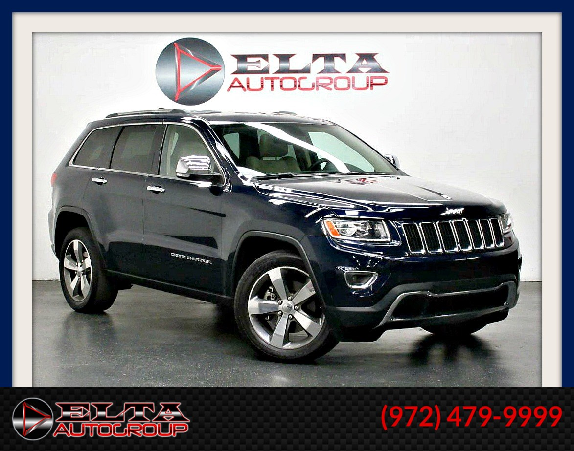 2014 Jeep Grand Cherokee LIMITED * 4WD * HEMI * NAVI * CAM * DVD * 1 OWNER