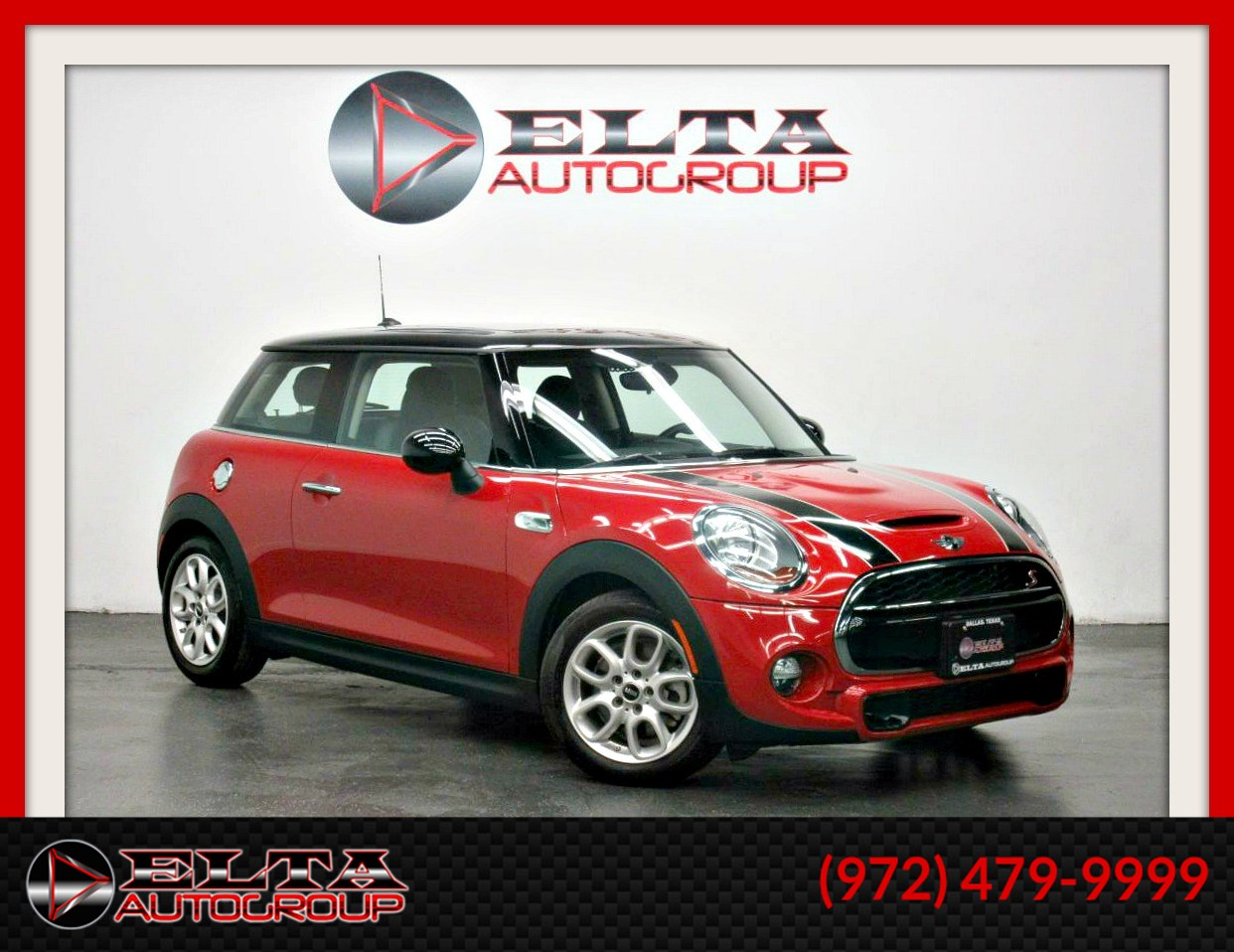 2015 MINI Cooper Hardtop S * AUTO * LEATHER * ROOF * LOW MILES * 1 OWNER