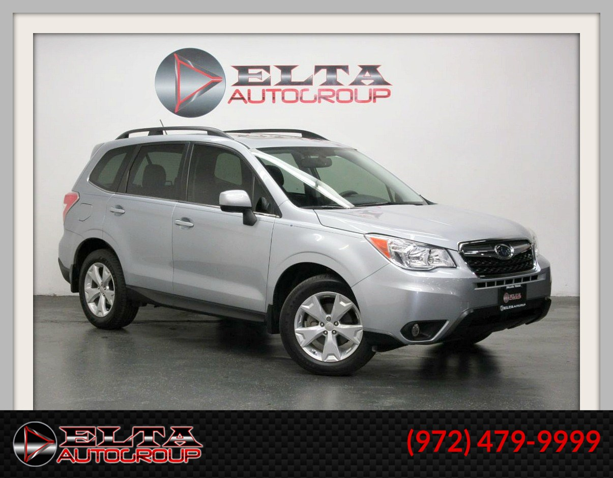 2015 Subaru Forester 2.5i LIMITED * NAVIGATION * LEATHER * PANORAMIC