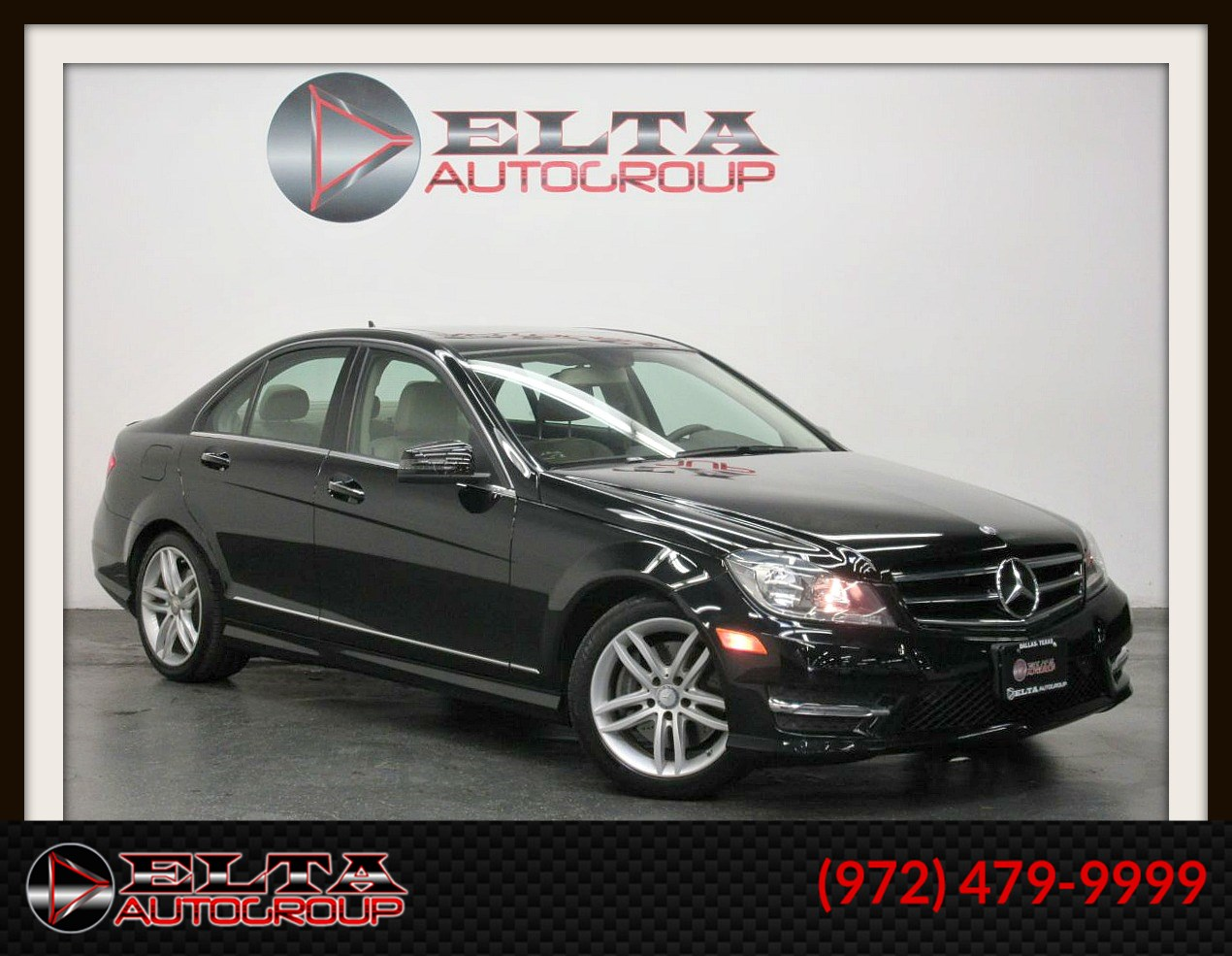 2014 Mercedes-Benz C 300 4MATIC * SPORT * NAVIGATION * CAMERA * V6