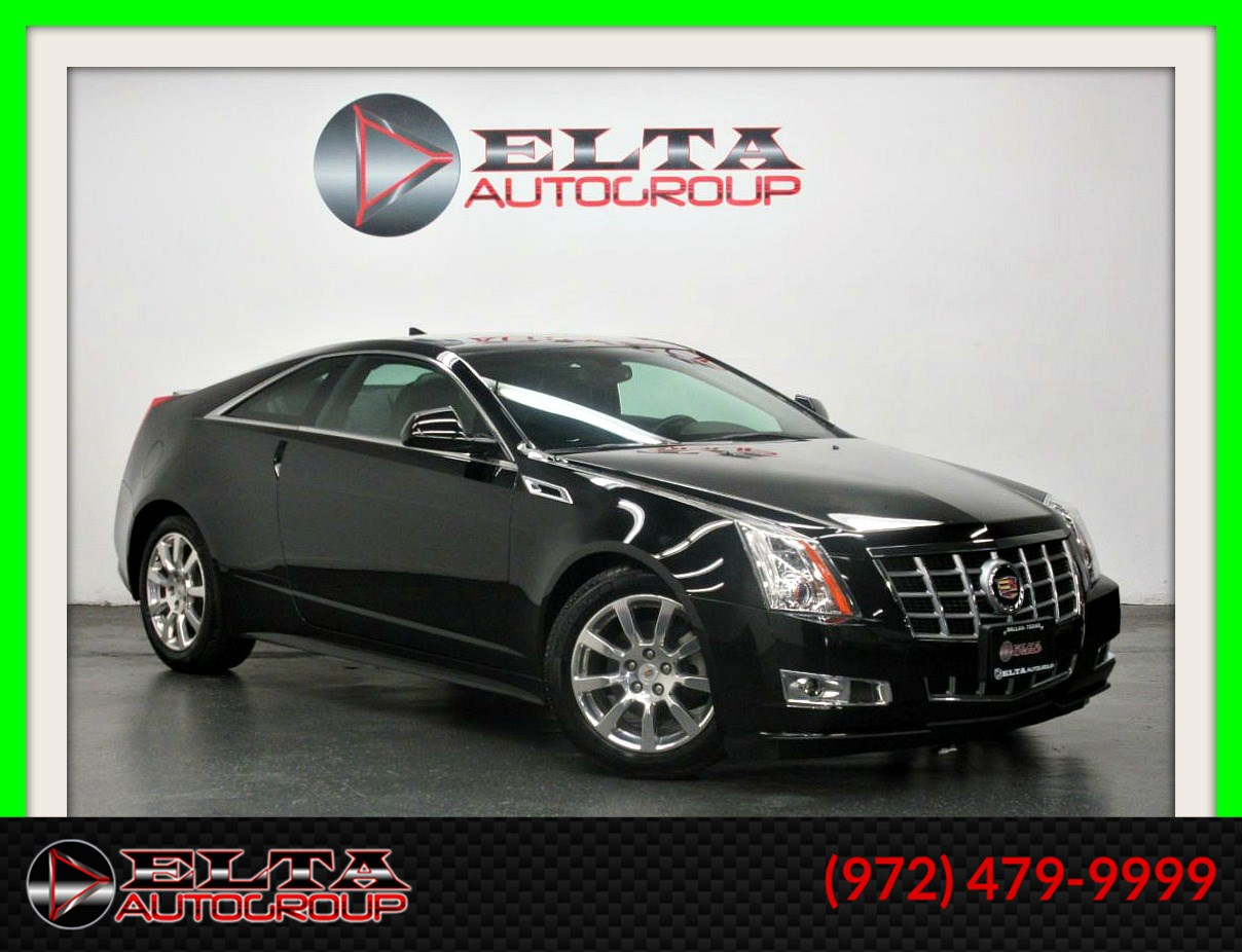 2012 Cadillac CTS Coupe PREMIUM *  NAVIGATION * ROOF * CAMERA * AWD