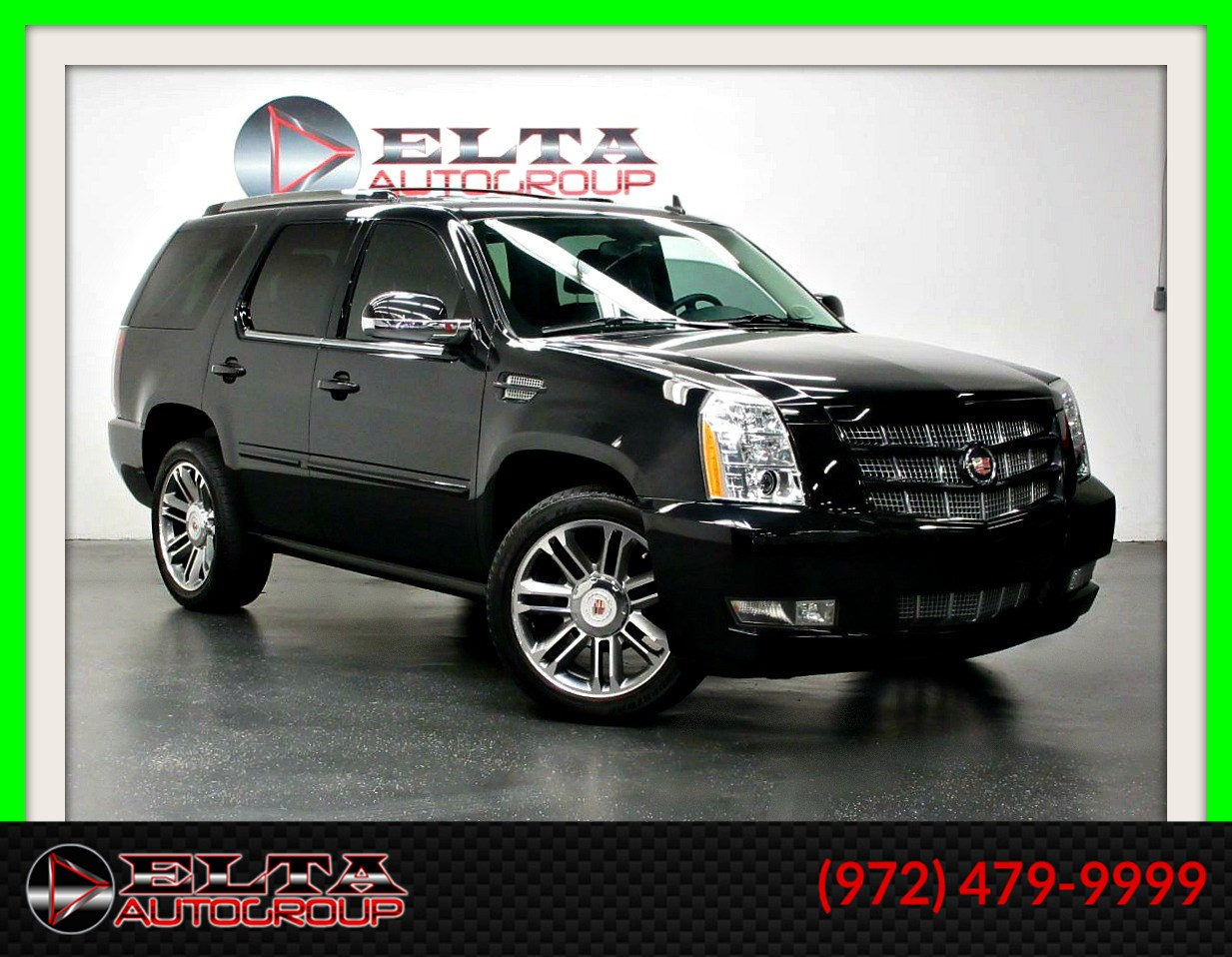 2013 Cadillac Escalade PREMIUM * AWD * NAVI * CAMERA * ROOF * LOW MILES