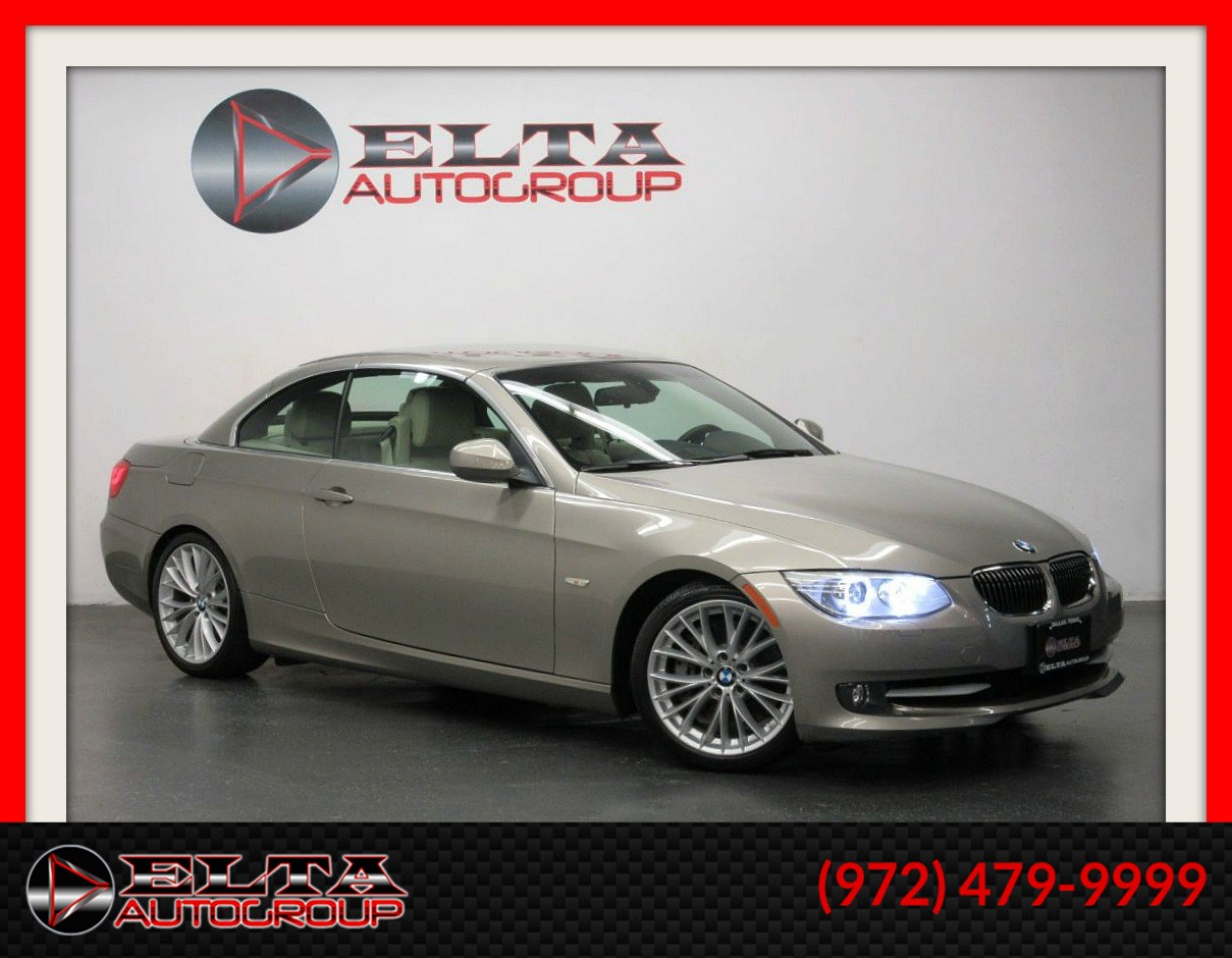 2011 BMW 3 Series 335i  CONVERTIBLE * SPORT * NAVIGATION * LOW MILES