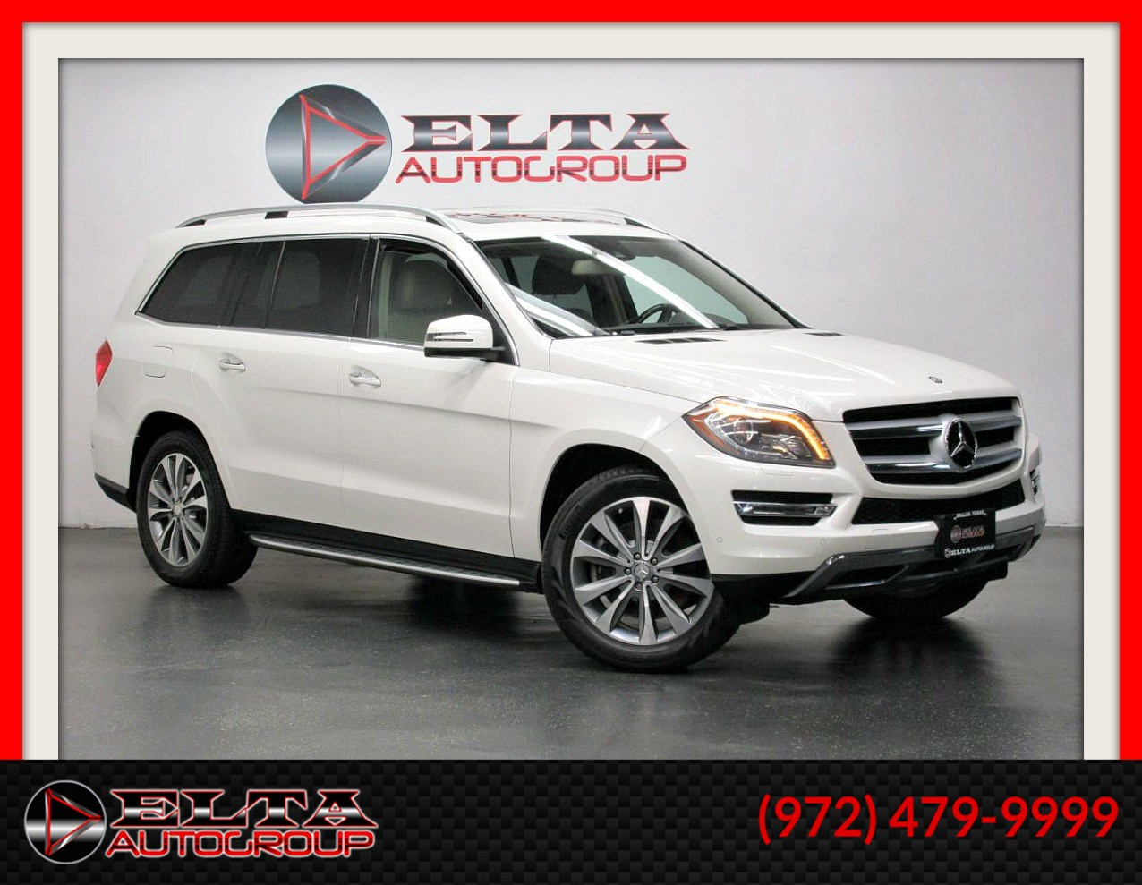 2013 Mercedes-Benz GL 450 PREMIUM * NAVI * CAM * 3RD ROW * BOARDS