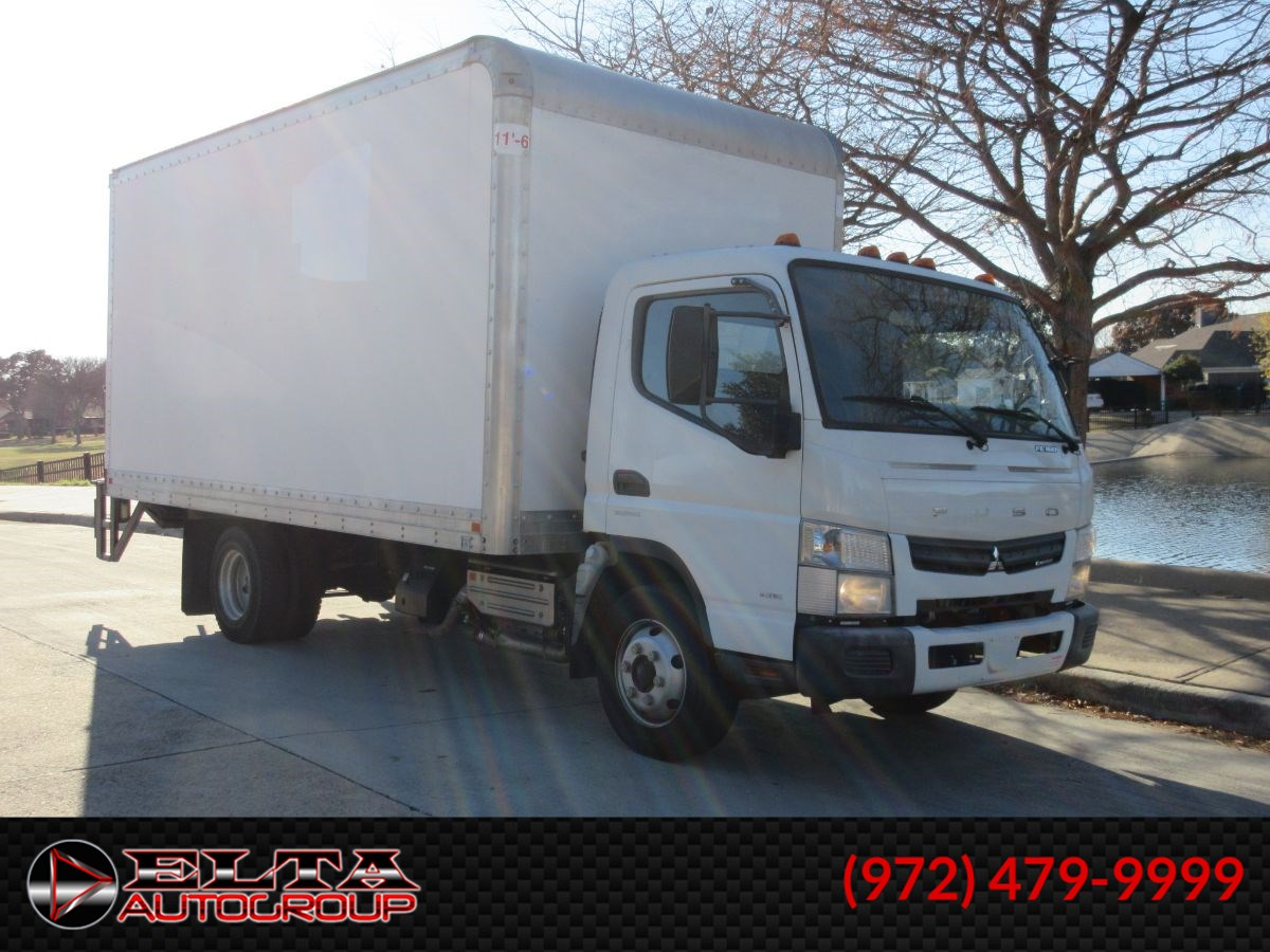 2012 Mitsubishi FUSO Cabover  FE160  DIESEL BoxTruck