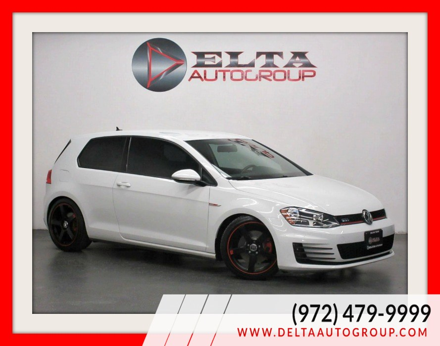 2016 Volkswagen Golf GTI S * 6 SPEED M/T * CAMERA * LOW MILES * 1 OWNER