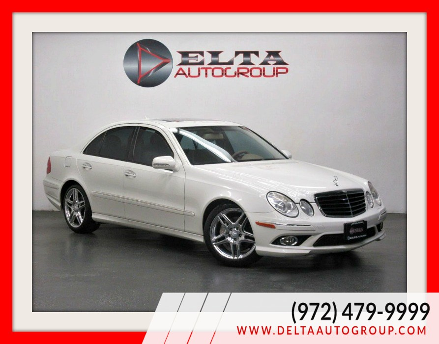 2009 Mercedes-Benz E350 SPORT * CHROME * LEATHER * ROOF