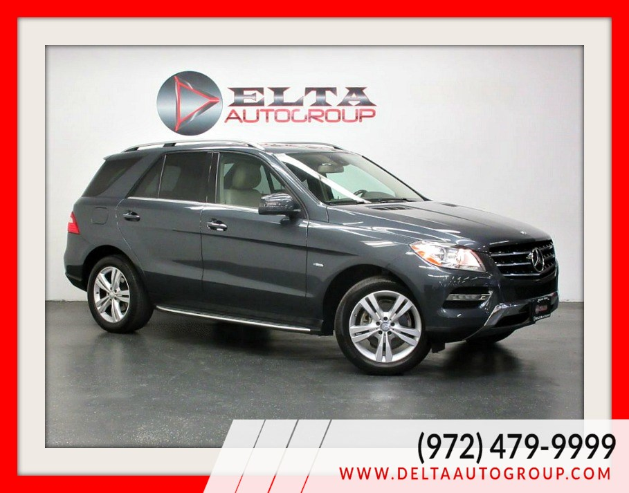 2012 Mercedes-Benz ML 350 4MATIC * CAMERA * NAVIGATION * ROOF * LOW MILES