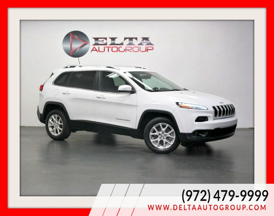 2018 Jeep Cherokee Latitude Plus* CAMERA * LEATHER *LOW MILE* 1 OWNER