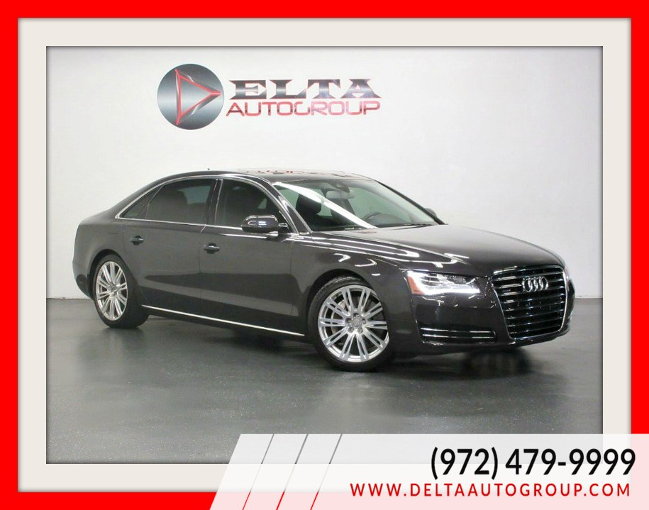 2012 Audi A8 L PREMIUM * LEATHER * ROOF * LOW MILES