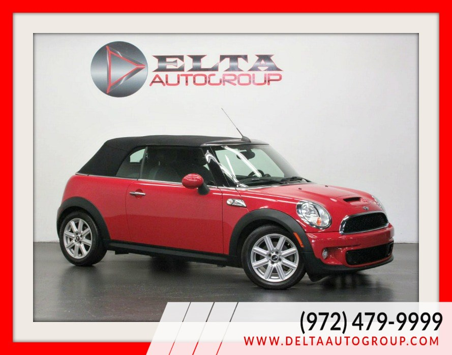 2014 MINI Cooper Convertible S * AUTOMATIC * LEATHER * LOW MILES