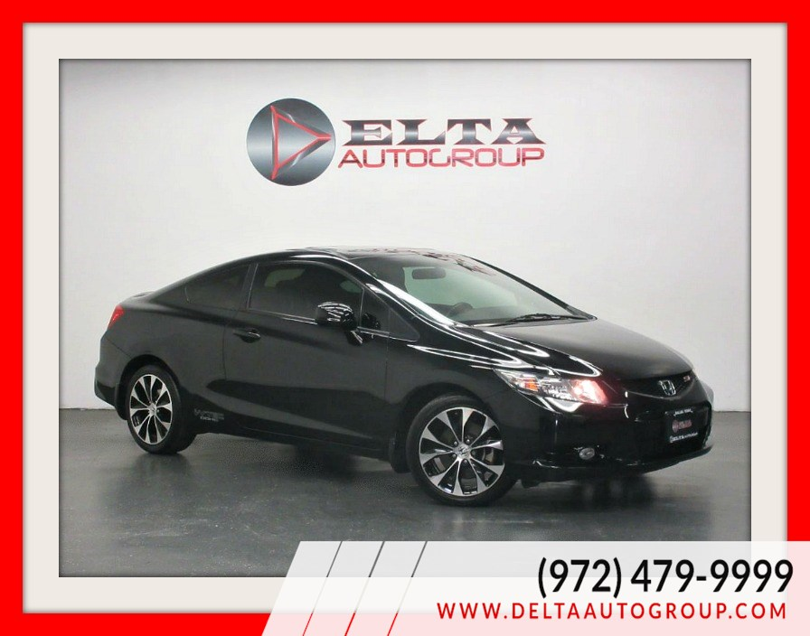 2013 Honda Civic Cpe Si * 6 speed M/T * CAMERA * SUNROOF * LOW MILES