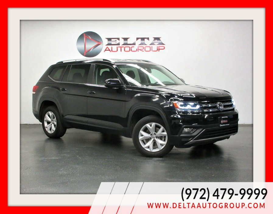 2018 Volkswagen ATLAS V6 SE * LEATHER * CAMERA * 3RD ROW * BT
