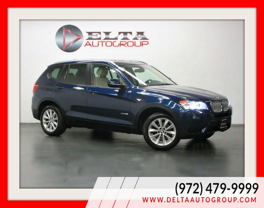2013 BMW X3 xDrive28i * NAVI * CAMERA * PANORAMIC * LOW MILES
