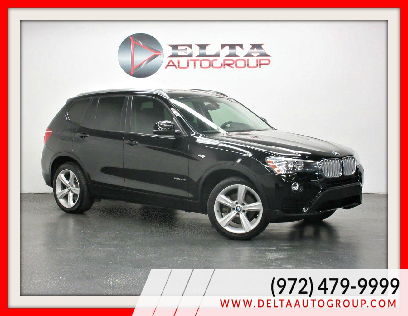 2017 BMW X3 sDrive28i * NAVIGATION * CAMERA * 1 OWNER