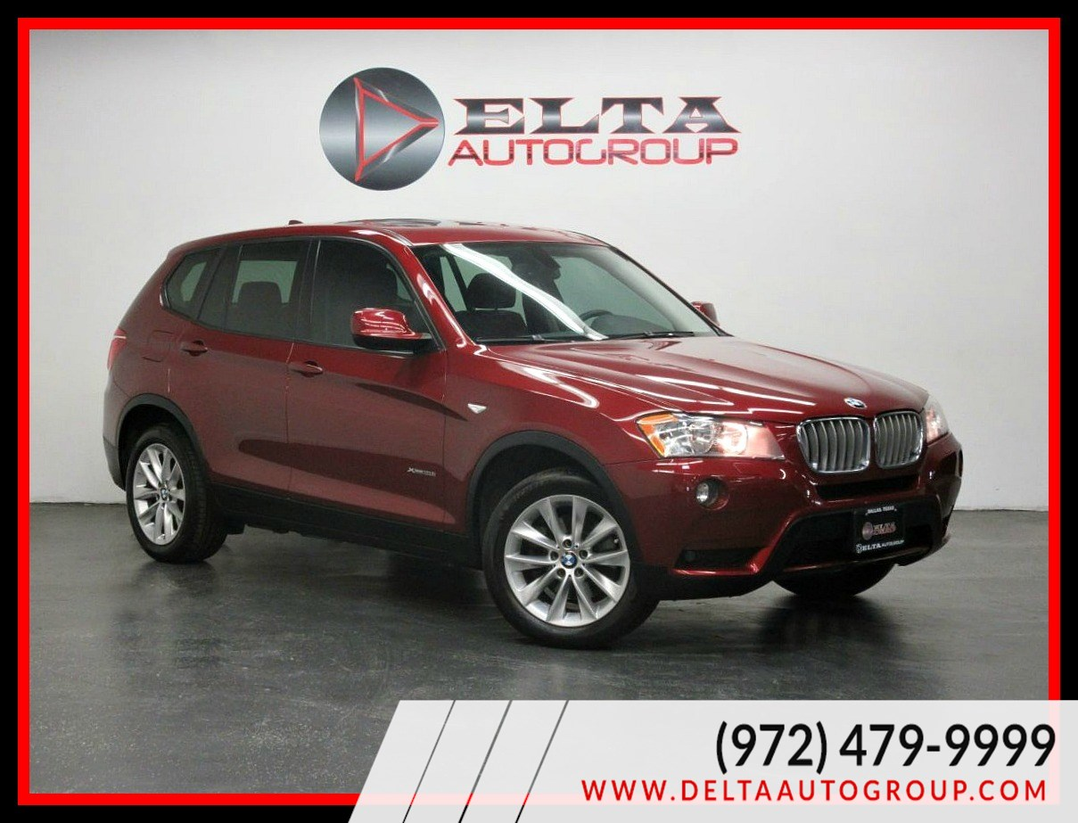 2014 BMW X3 xDrive28i NAVI CAMERA ROOF LOW MILES