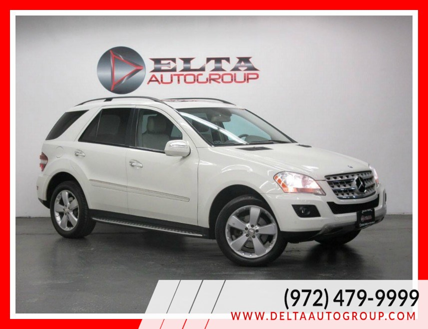 2009 Mercedes-Benz ML350 4MATIC CAMERA NAVIGATION ROOF LOW MILES