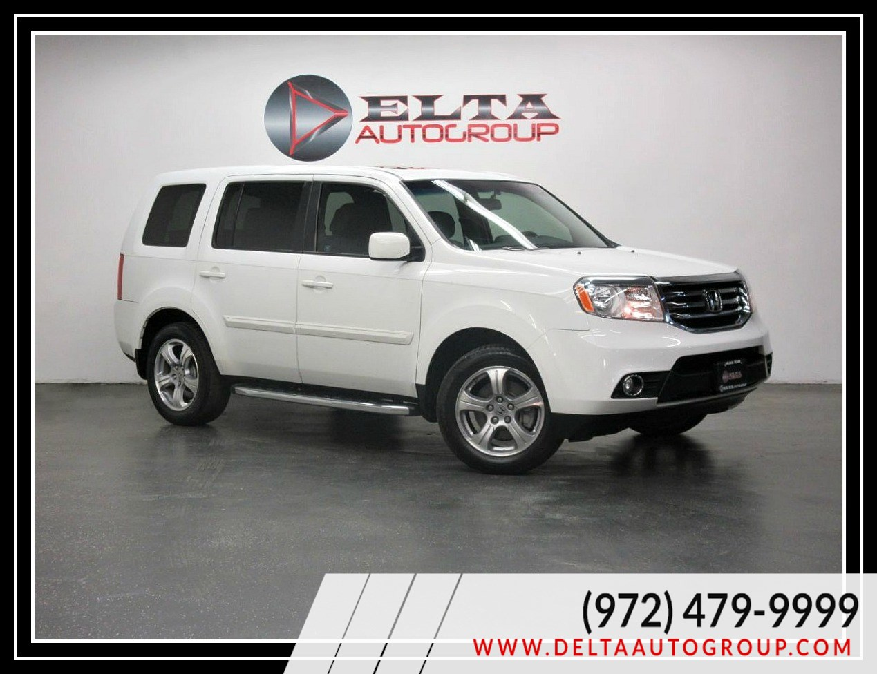 2012 Honda Pilot EX-L CAMERA LEATHER ROOF 3RD 1 OWNER