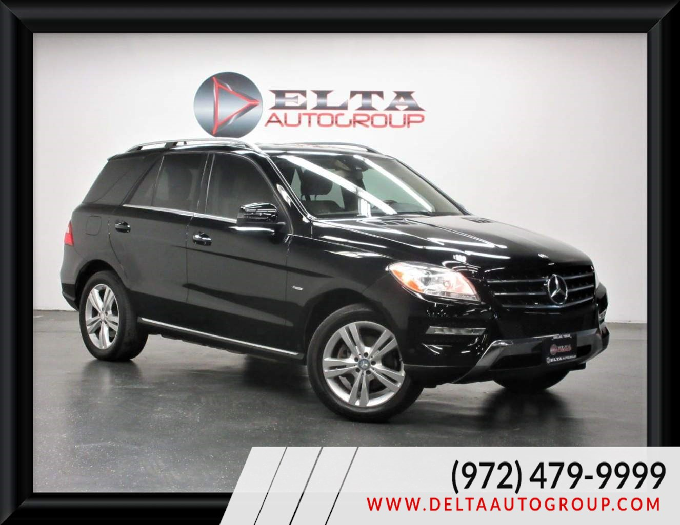 2012 Mercedes-Benz ML 350 4MATIC NAVIGATION ROOF CAMERA LOW MILES