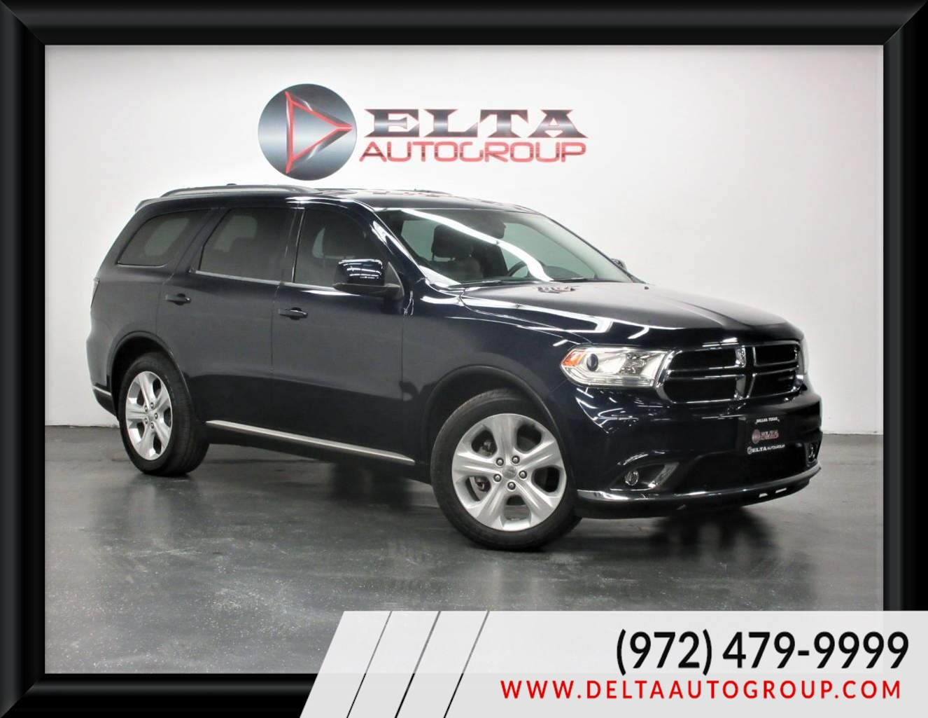 2014 Dodge Durango SXT CAMERA 3RD ROW LOW MIES 1 OWNER