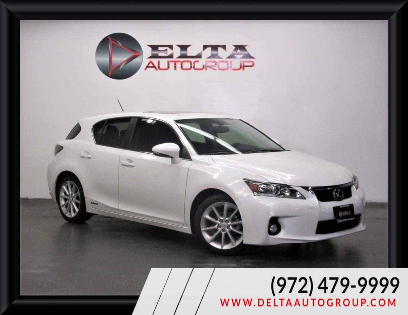 2013 Lexus CT 200h Hybrid CAMARA ROOF LEATHER LOW MILES