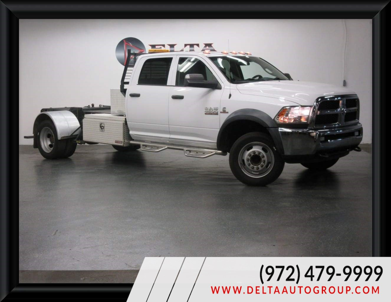 2018 Ram 4500 Chassis Cab Tradesman 4WD DIESEL CREW