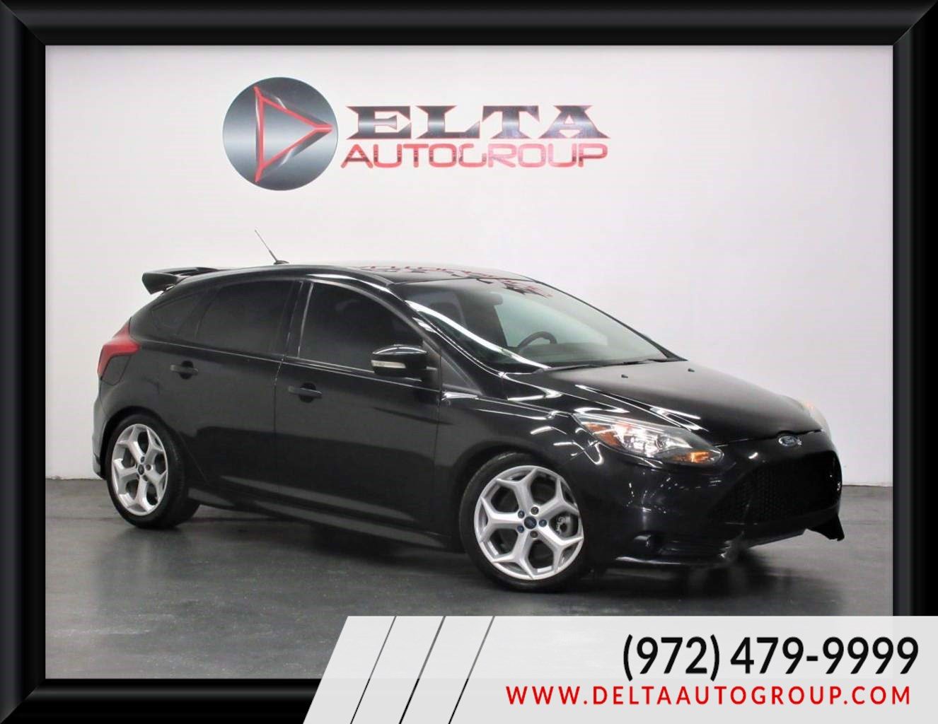 2014 Ford Focus ST 6 SPEED MANUAL TURBO ALLOYS