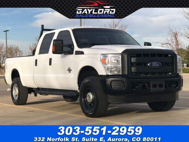 sold 2015 ford super duty f 350 srw crew cab xl long bed 4x4 diesel