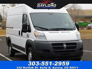 View 2018 Ram ProMaster Ext Cargo Van High Roof