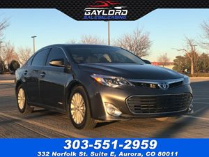 View 2015 Toyota Avalon Hybrid