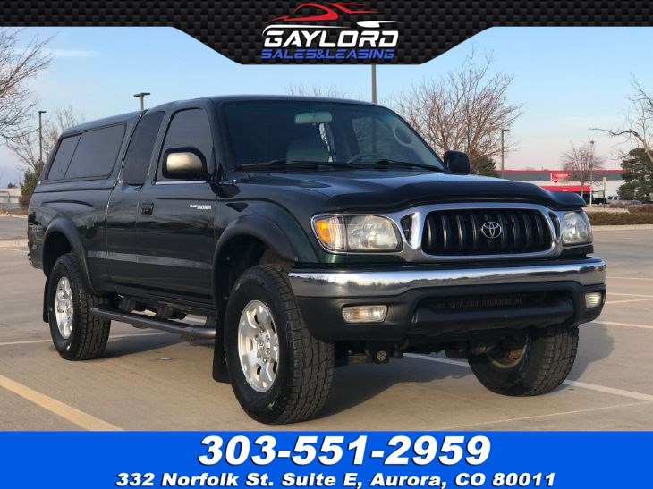 Toyota Tacoma Topper For Sale >> 2002 Toyota Tacoma Xtra Cab Trd Off Road 4x4 W Topper Gaylord Sales Leasing Co