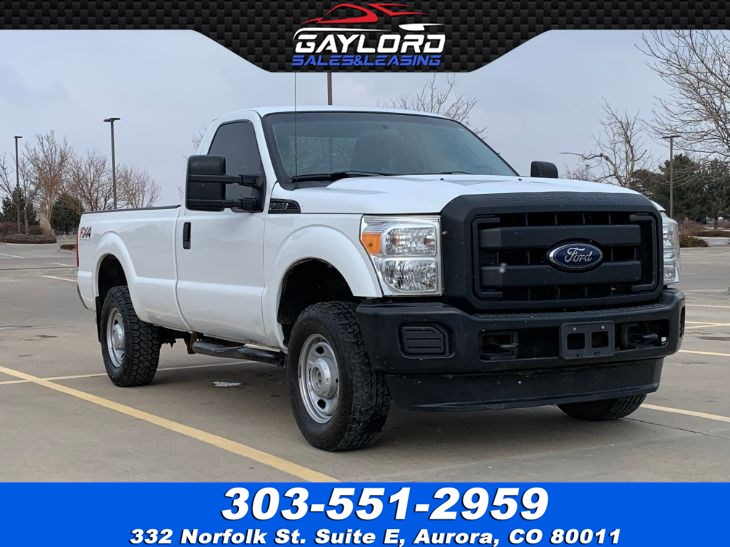 2014 Ford Super Duty F-250 SRW XL Std Cab Long Bed 4X4