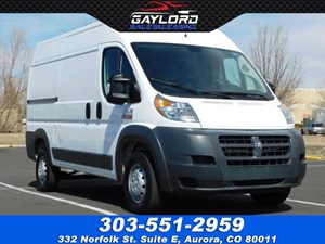 View 2018 Ram ProMaster 1500 Cargo Van High Roof 136""