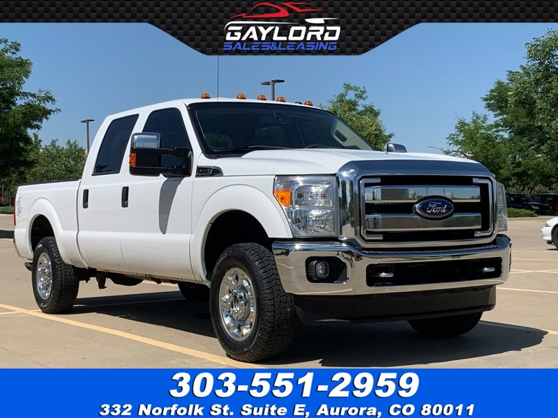 2015 Ford Super Duty F-250 SRW XLT Crew Cab Short Bed 4X4